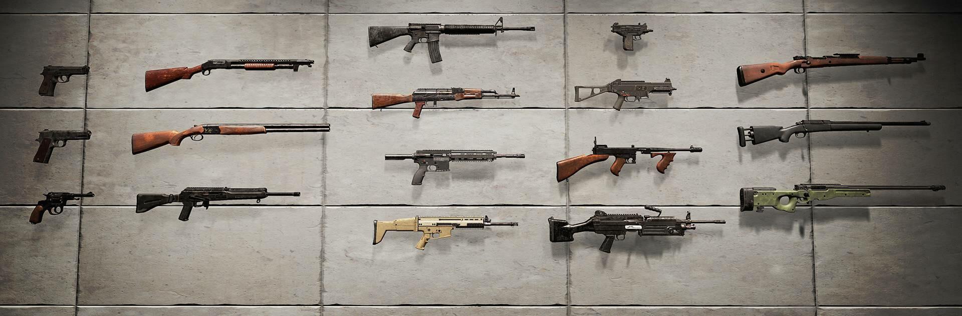 Senjata Terbaik Dan Terburuk Di Playerunknown S Battlegrounds