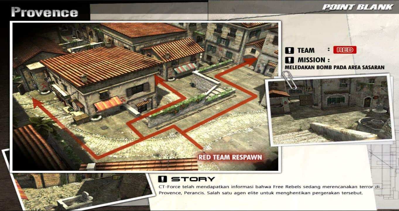 PB Garena Indonesia Map Baru Provence | VazGaming