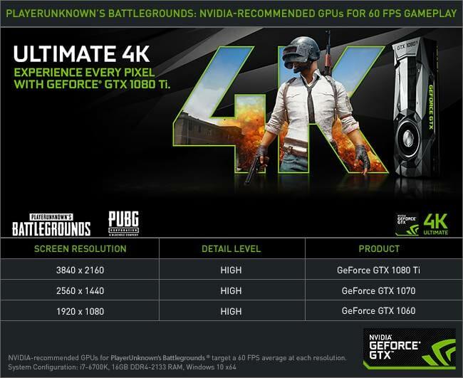 Cara Bermain PUBG di PC Dengan FPS Tinggi, Nvidia Memberikan Tips Penting