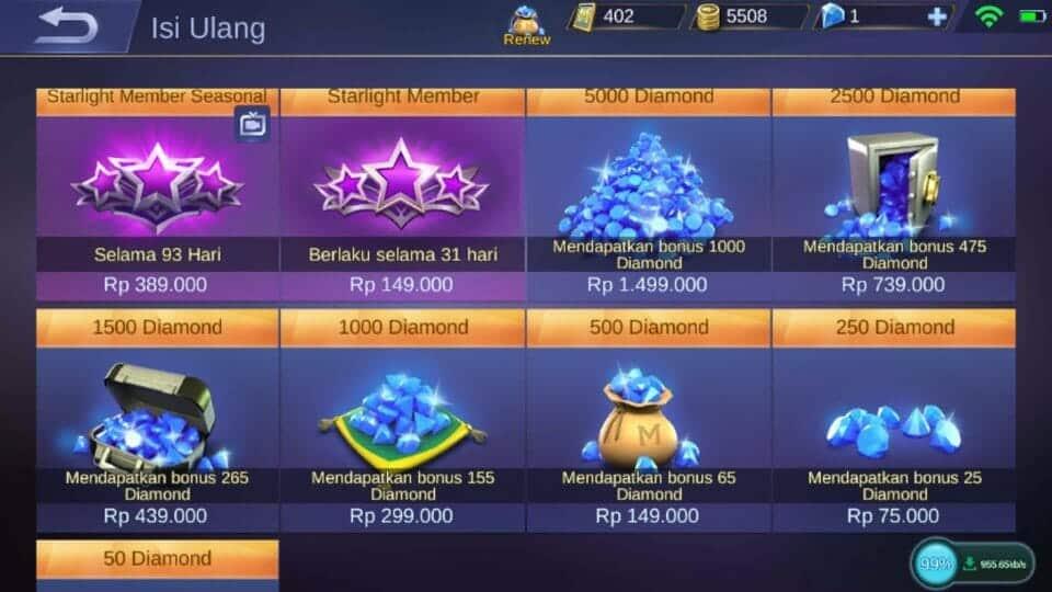 Dapatkan Banyak Diamond Dengan Mobile Legend Hack Diamond