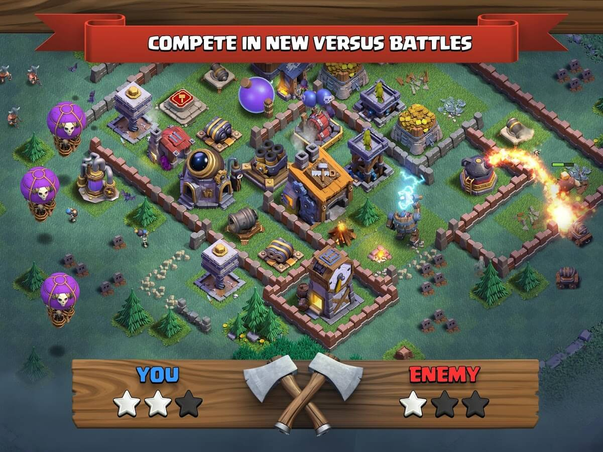 Clash of Clans Bermain
