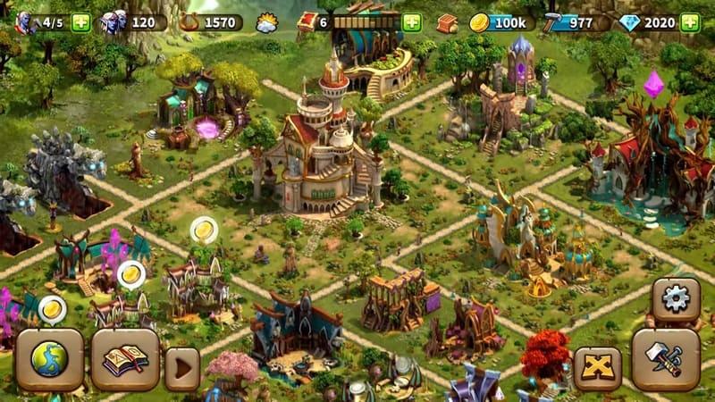Elvenar game membangun kota android
