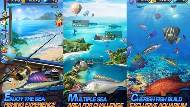 Fishing Fever game memancing terbaik