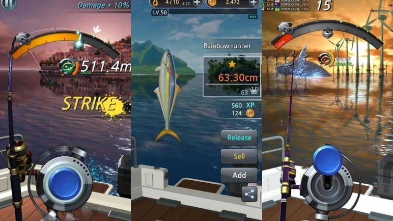 Fishing Hook game memancing android