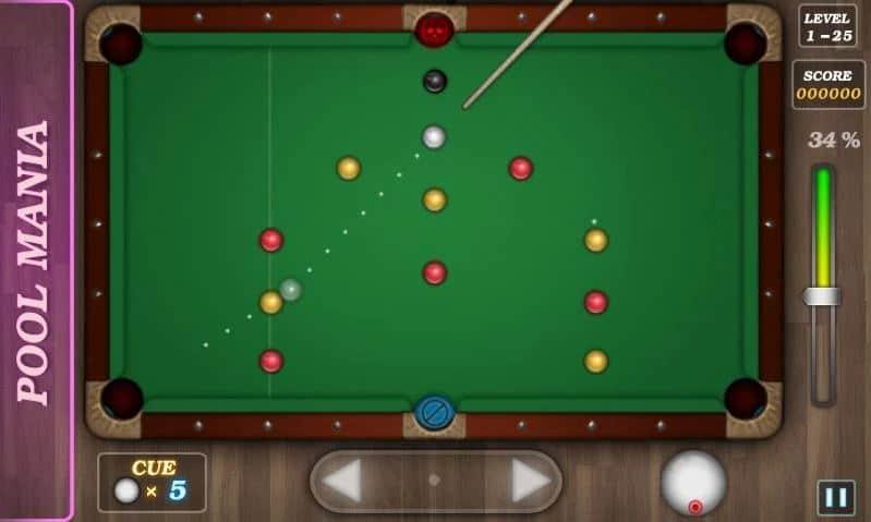 Pool Mania game billiard offline android