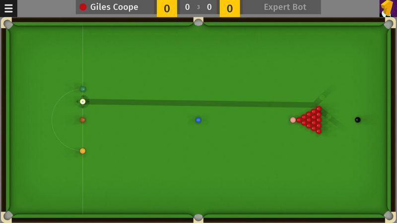 Total Snooker game billiard ringan android