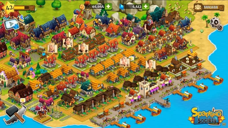 Town Village: Ternak, Bangun, Dagang, Farm, Build