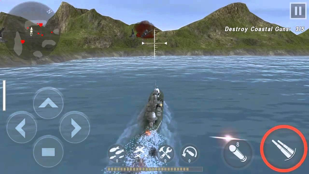 Warship Battle semua game perang