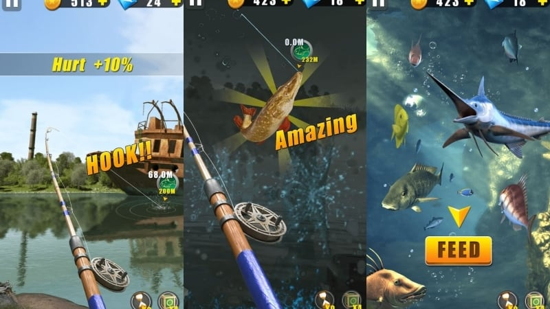 Wild Fishing game memancing terbaik