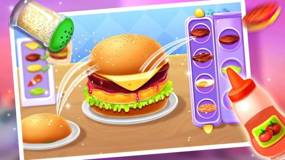 Burger Shop - Kids Cooking Game