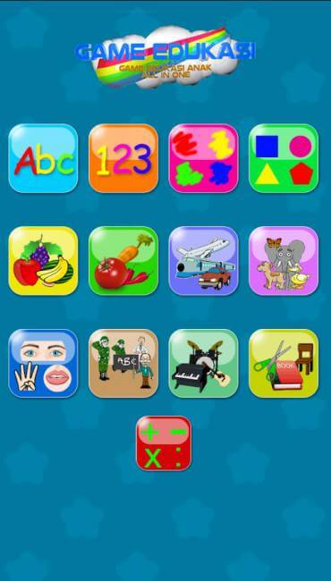Game Edukasi Anak: All In 1
