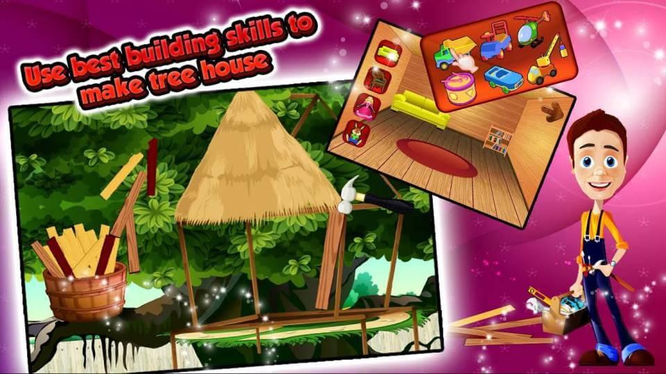 Membangun rumah pohon
