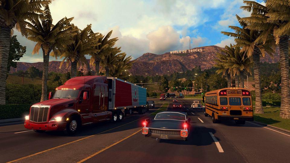 American Truck Simulator game simulasi berpetualang