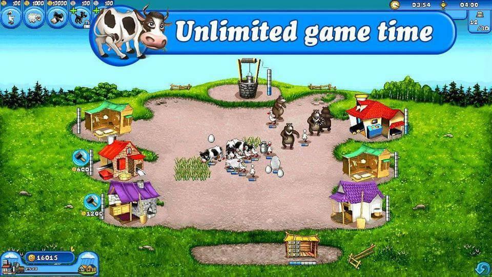 Farm Frenzy Free game android terbaik
