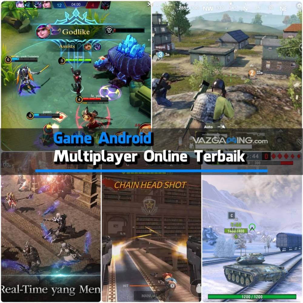 Game Android Multiplayer Online Terbaik