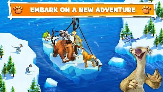 Game petualangan android Ice Age Adventures