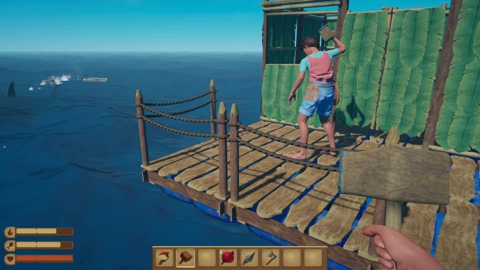 Raft game bertahan hidup
