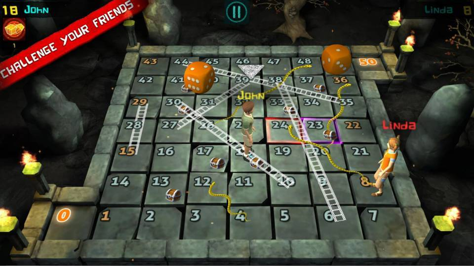 Snakes And Ladders 3D / Ular Tangga 3D
