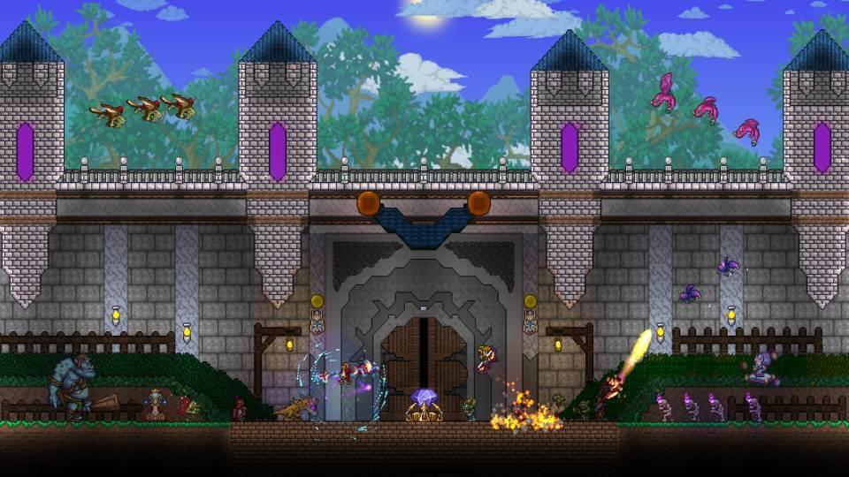 Terraria game ringan berukuran kecil