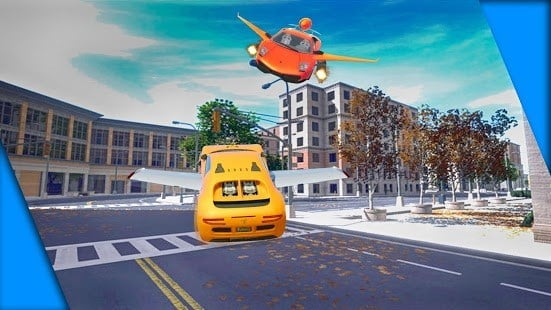 game android Mobil Terbang Racing Petualang