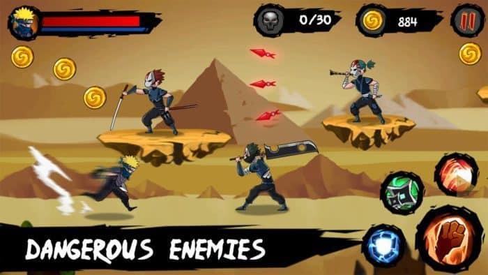 game petualangan Ninja Runner Adventure