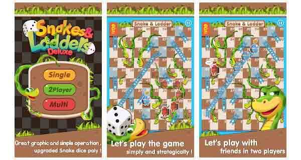 snake and ladders deluxe