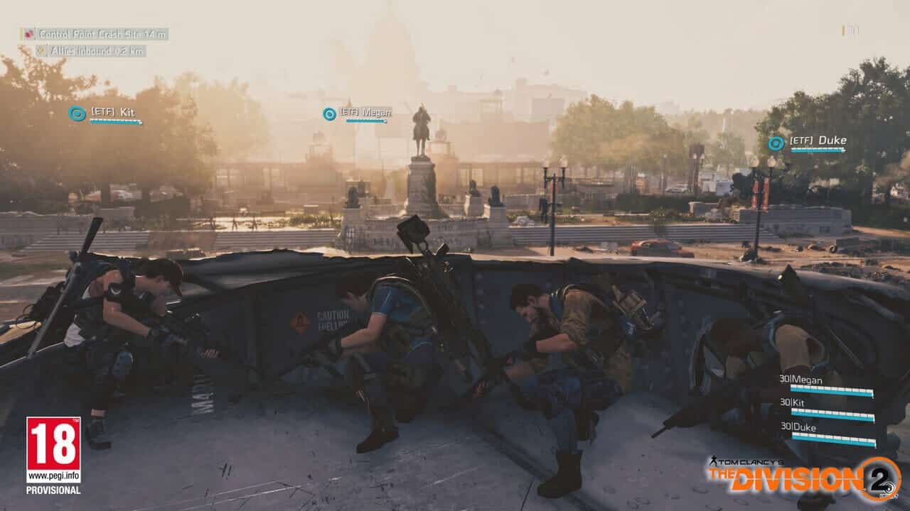Tom Clancy's The Division 2 Epic Gameplay