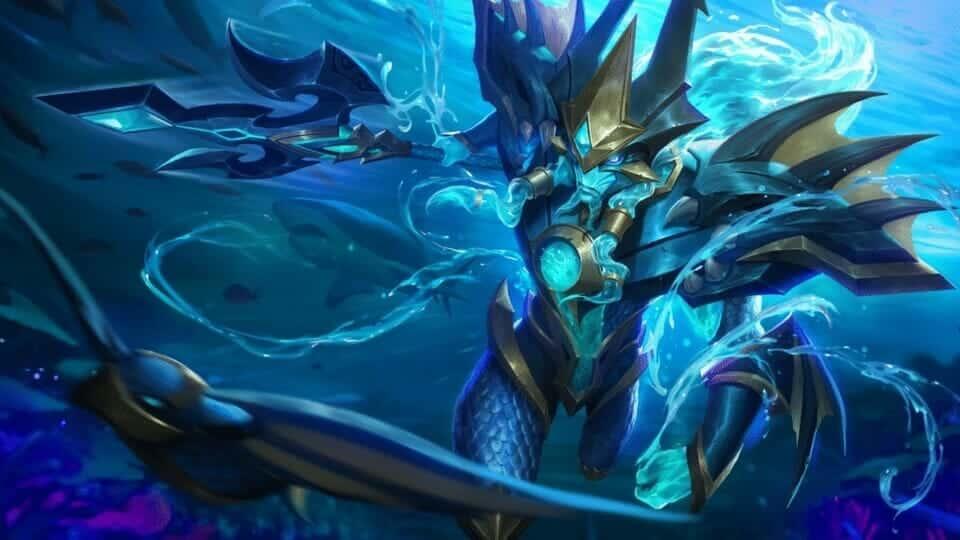 Mobile Legends Alpha Sea Gladiator Wallpaper