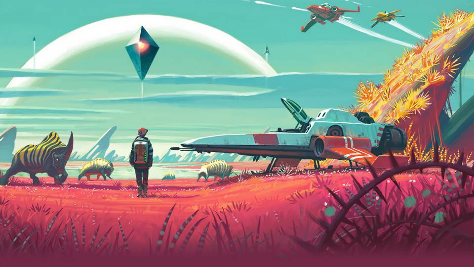 No Mans Sky game berpetualang pc