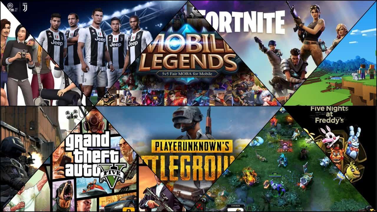 Game yang Paling Sering Ditonton di YouTube oleh Gamer