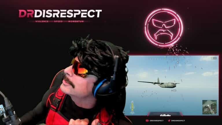 Headset Gaming DrDisRespect Turtle Beach Stealth 700