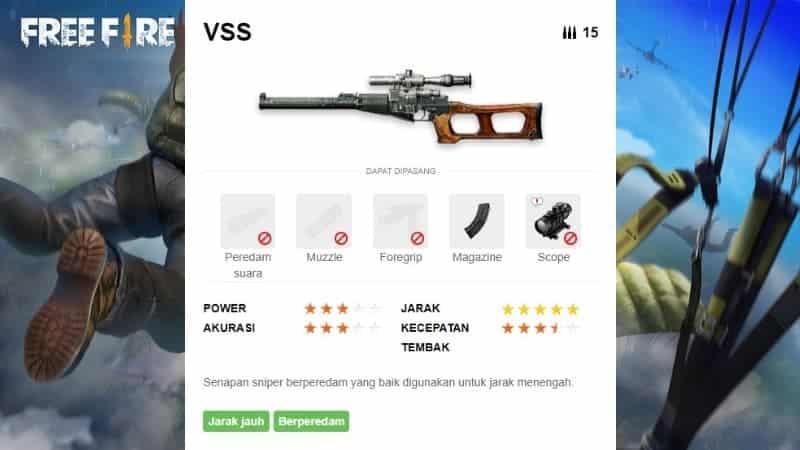 VSS - Sniper Rifle