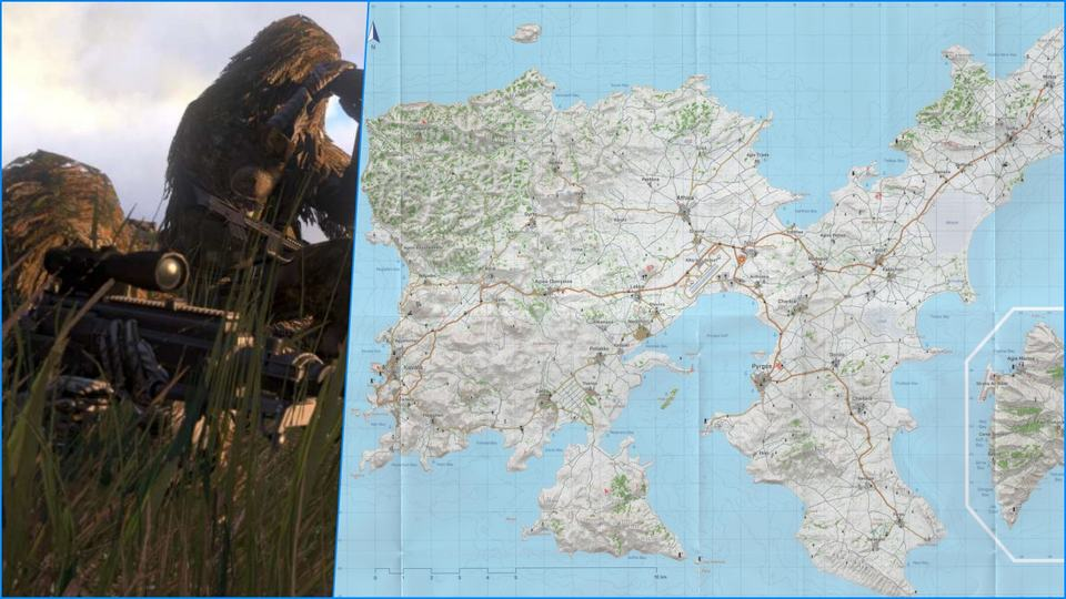 Arma 3 Game Map Terbesar