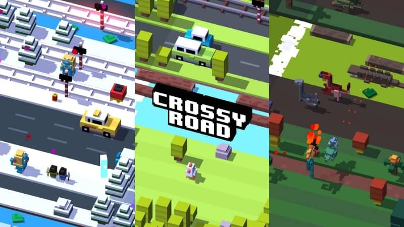 Crossy Road game android offline terbaik