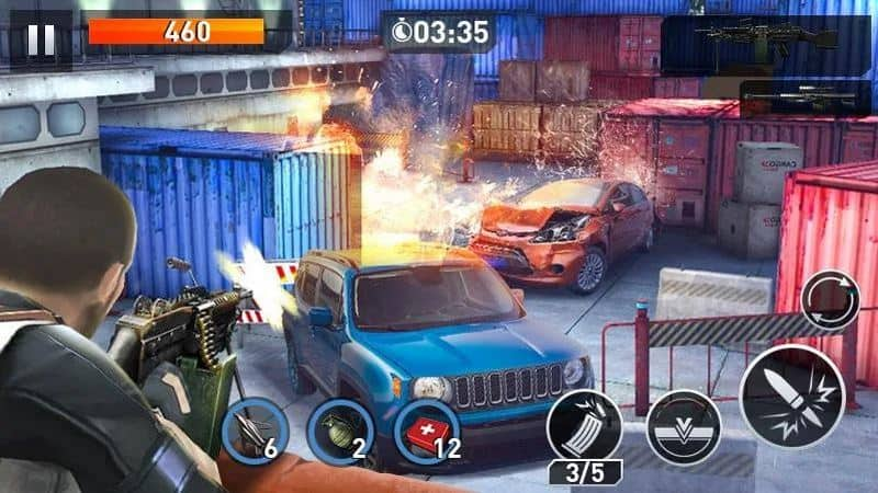 Elite Killer SWAT adalah game offline android terbaik