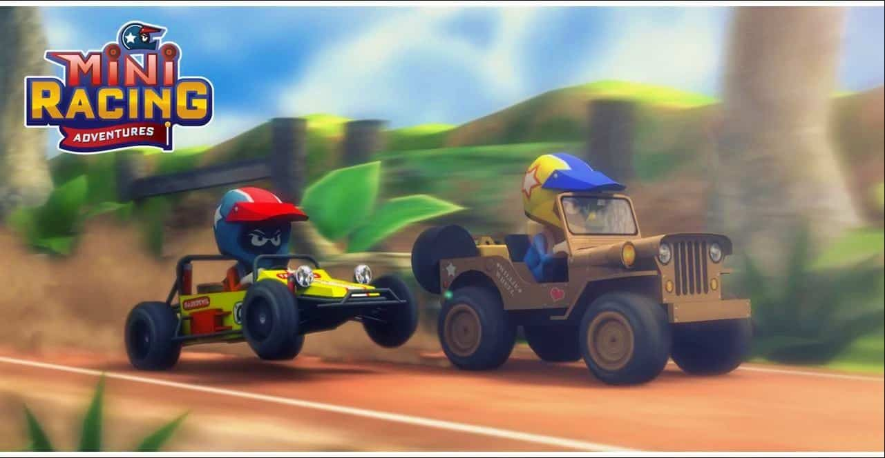 Mini Racing Adventures Game Android Indonesia