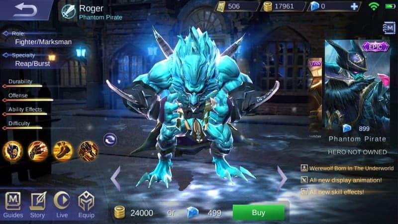 460+ Gambar Mobile Legend Roger HD