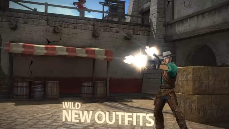 Six-Guns adalah game offline android terbaik