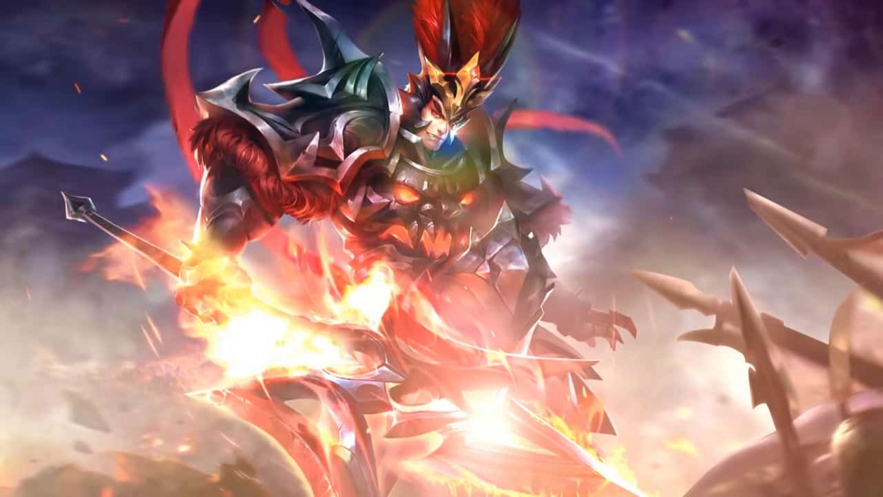 Arena of Valor Wallpaper HD Lu Bu