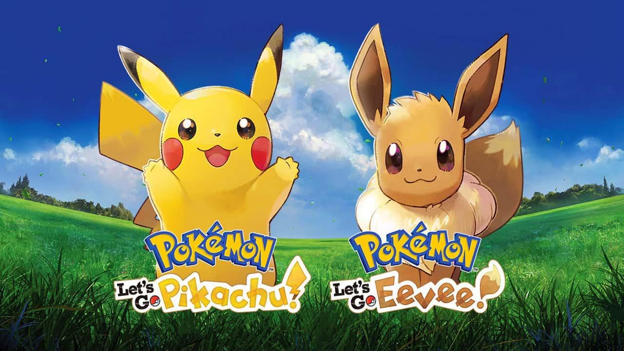 Pokemon Let's Go Pikachu Eevee Wallpaper HD