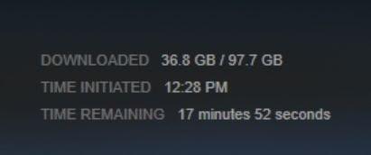 Ukuran Shadow of War Steam Capai 97 GB