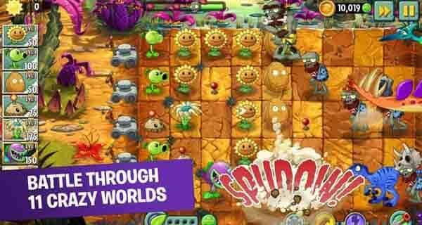 plants vs zombie game perang terbaik offline