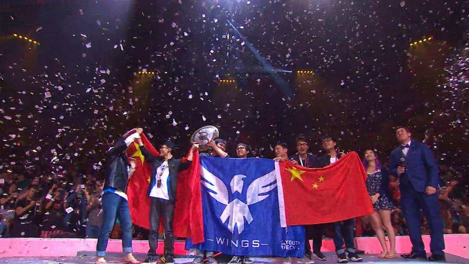 Wings Gaming Saat memenangkan The International 2016