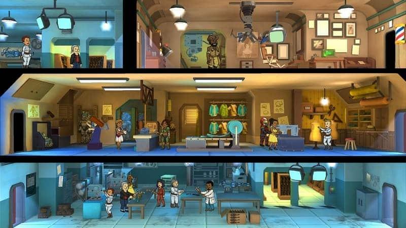 Fallout Shelter game terbaik