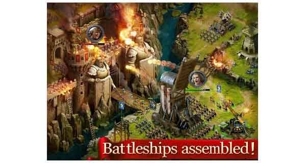 age of kings game kerajaan terbaik android