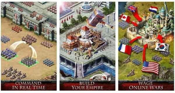 empire war game kerajaan terbaik android