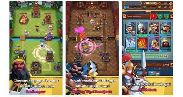 game perang royale kerajaan android terbaik