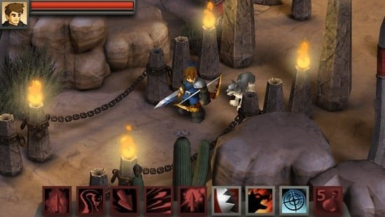 Game RPG terbaik Battleheart Legacy