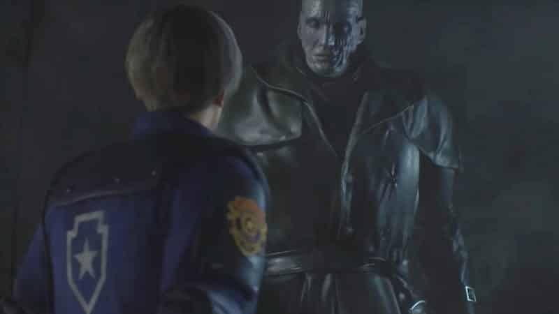 Resident Evil 2 Remake Tyrant atau Mr.X