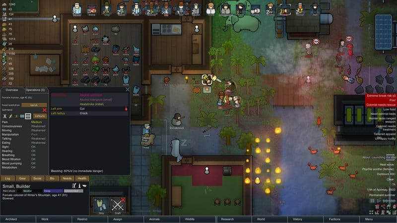 RimWorld Game di bawah 1 gb